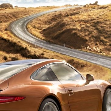 Скорость движения по загородной дороге